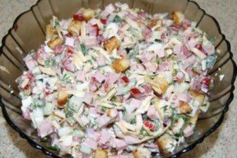 Очень вкусный — салатик Берлинский