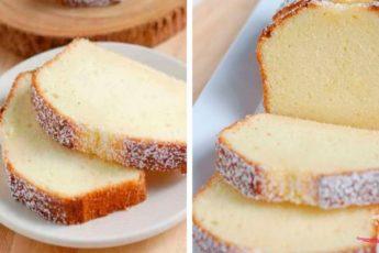 Вкусный творожный кекс